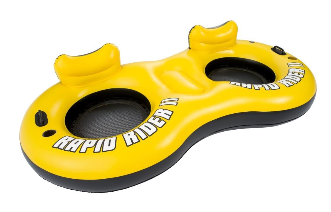 Bestway Doppel Schwimmsessel Rapid Raider Schwimmlounge 43113