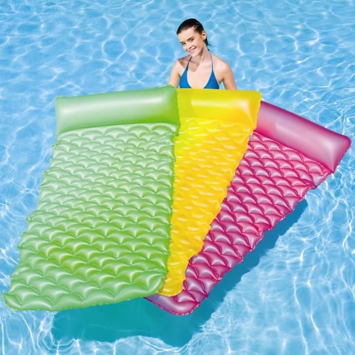 Bestway Luftmatratze Float-n Roll grün 44020