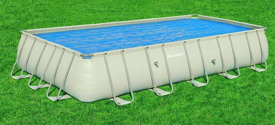 Bestway Solarplane für Rechteck-Pools 412x201 58240