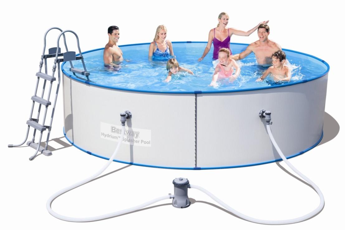 Bestway Stahlwandpool Set HYDRIUM Splasher 360x90 56377
