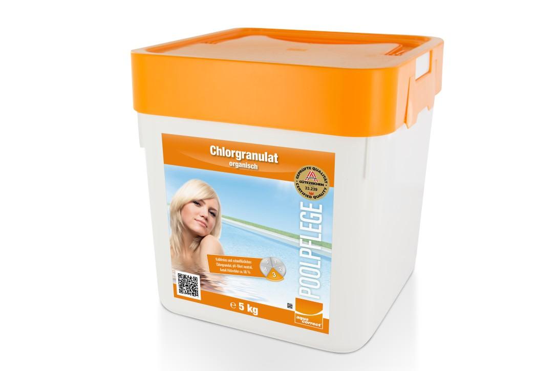 Chlorgranulat Organisch - 56- 5kg