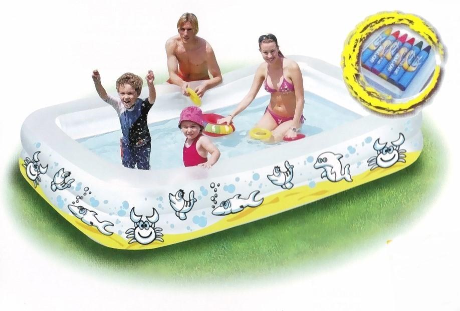 Color Me Pool Planschbecken Schwimmbecken MAXI 87242
