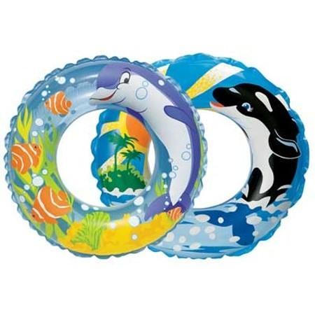 INTEX Schwimmring blau 58245