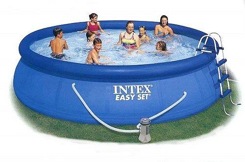 INTEX Swimming Pool Easy Set 457x84 Set ECO 28180