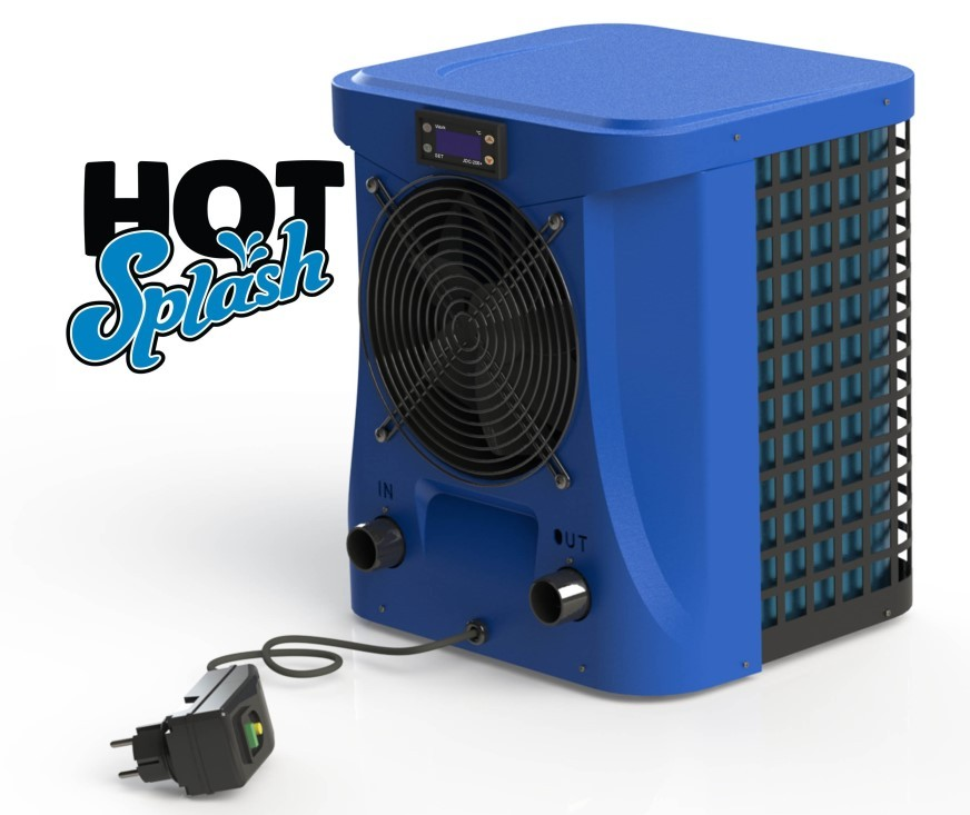 Wärmepumpe Hot-Splash Plug und Play 2-4 KW Heizleistung